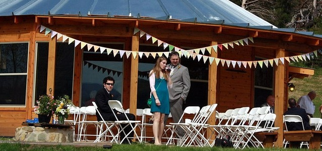 Wedding for 50 at Pondview cabin