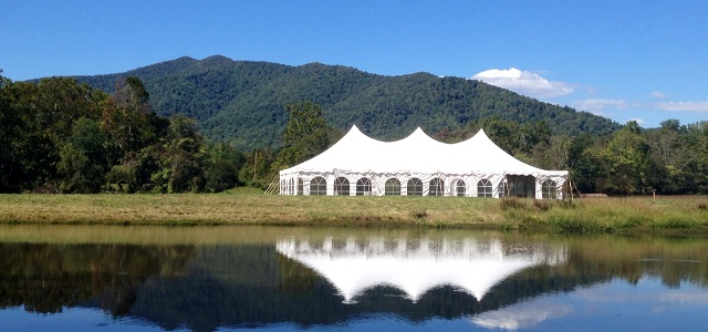 Double Top Mountain makes a pretty spectacular backdrop for your special day